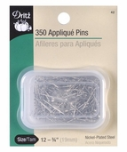 Dritz Applique Pins 350 pack 3/4 inch