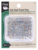 Dritz Ball Point Pins 350ct