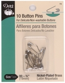 Dritz Button Pins 10ct Size 00