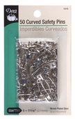 Dritz Curved Safety Pins 50ct Size 1