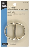 Dritz D-Rings 4ct 1.5in - Gold