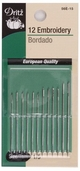 Dritz Embroidery Needles 12ct