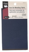 Dritz Iron-On Mending Fabric 3 x 8in - Dark Assortment