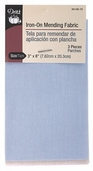 Dritz Iron-On Mending Fabric 3 x 8in - Light Assorted
