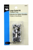 Dritz Large Eyelet Kit - Nickel