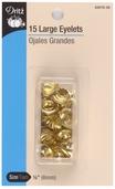 Dritz Large Eyelets - Gold