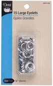 Dritz Large Eyelets - Silver