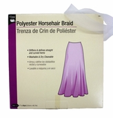 Dritz Polyester Horsehair Braid 1 in - White