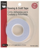 Dritz Sewing and Craft Tape - White
