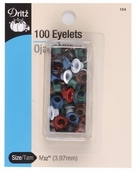 Dritz Small Eyelets - 100ct Assorted