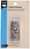 Dritz Snap Fasteners - Silver
