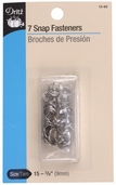 Dritz Snap Fasteners Size 16 - Nickel