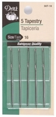 Dritz Tapestry Needles 5ct Size 16