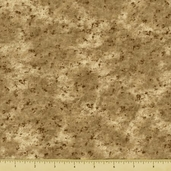 Dusty Trails Cotton Fabric - Tan