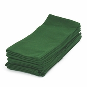 Dyed Tea Towel - Holly Green