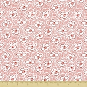 Dynamic Duo Cotton Fabric - White - CLEARANCE