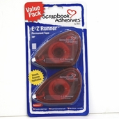 E-Z Runner Value Pack of 2 Scrapbook Adhesives