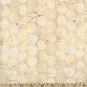Edges Circle Cotton Fabric - Parchment CJ6061-PARC-D