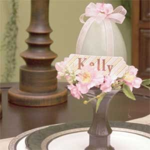Egg Place Card Holder