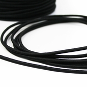Elastic Cord 1/8in -55yds - Black