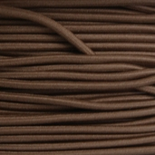 Elastic Cord 1/8in - 55yds - Brown