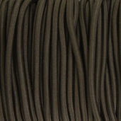Elastic Cord 3/16in - 55yds - Brown
