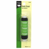 Dritz Elastic Thread - Black
