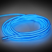 Electro-Luminescent Wire Lights - Blue