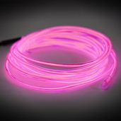 Electro-Luminescent Wire Lights - Pink