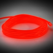 Electro-Luminescent Wire Lights - Red