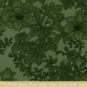 Elegance Cotton Fabric - Green - Clearance
