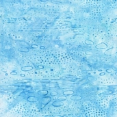 Elementals Batik Cotton Fabric - Nature - Sky