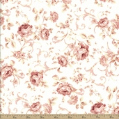 Elm Creek Quilts Caroline's Collections Cotton Fabric - Light Pink 22101-LTPIN1
