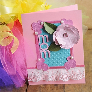 Embossed Mother's Day Card