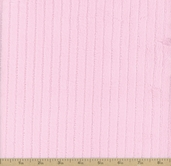 Ribbon Cuddle Minky Fabric - Baby Pink