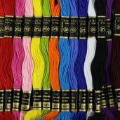 Cotton Embroidery Floss Value Pack - Primary 36 Peice - Iris