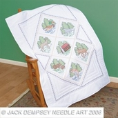 Jack Dempsey Lap Quilt Top - Great Outdoors