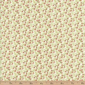 Emma Ditsy Vine Cotton Fabric - Spring