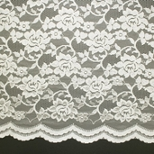 Enchanting Nylon Lace - Off White