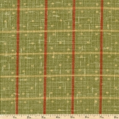 Enduring Grace Plaid Texture Cotton Fabric - Green