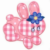 Especially Baby Iron On Appliques - Bunny