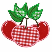 Especially Baby Iron On Appliques - Cherries