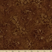 Essential 108 Wide Backing Cotton Fabric - Brown
