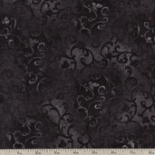 Essential 108 Wide Backing Cotton Fabric - Black 1055-7210-900
