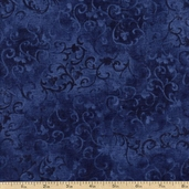 Essential 108 Wide Backing Cotton Fabric - Blue 1055-7210-494