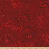 Essential 108 Wide Backing Cotton Fabric - Dark Red