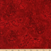 Essential 108 Wide Backing Cotton Fabric - Red 1055-7210-339