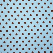 Essential Flannel Dots - Blue