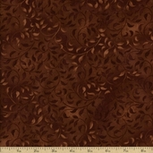 Essentials Climbing Vine Cotton Fabric - Brown