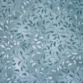Essentials Climbing Vine Cotton Fabric - Dusty Blue